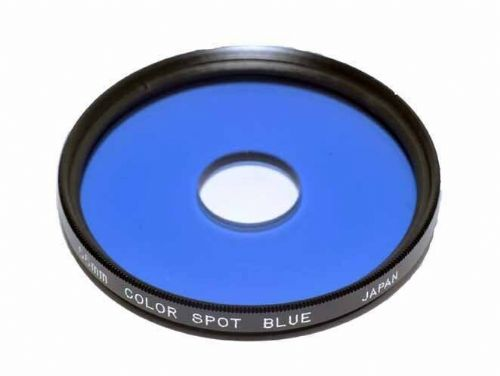 55mm Centre Spot Blue Filter made in Japan